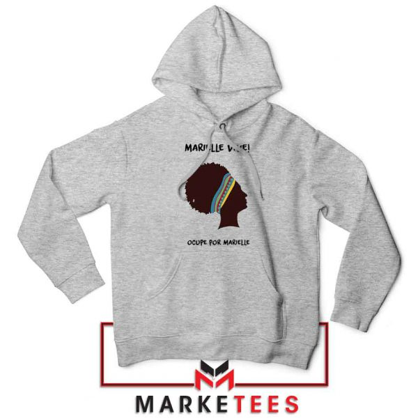 Ocupe For Marielle Franco Sport Grey Hoodie