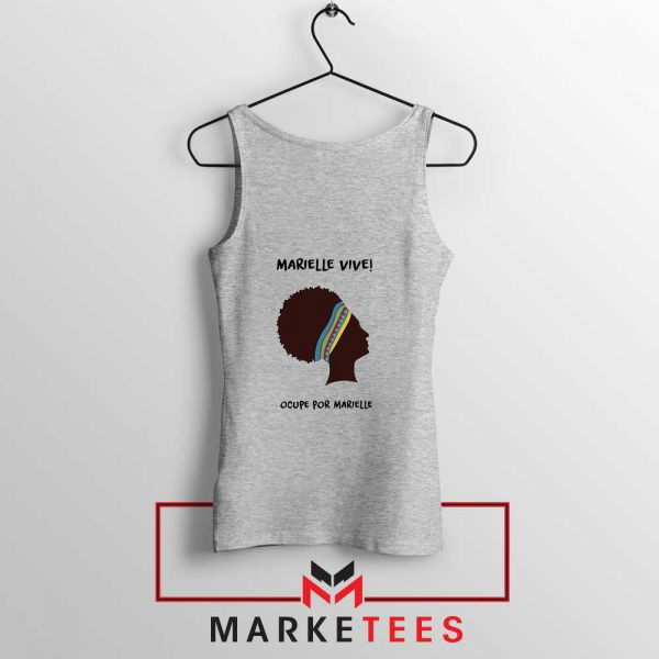 Ocupe For Marielle Franco Sport Grey Tank Top