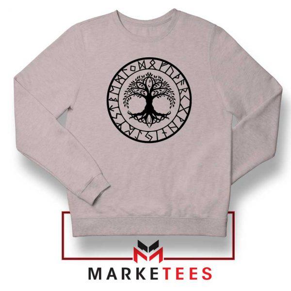 Old Norse Yggdrasill Sport Grey Sweatshirt