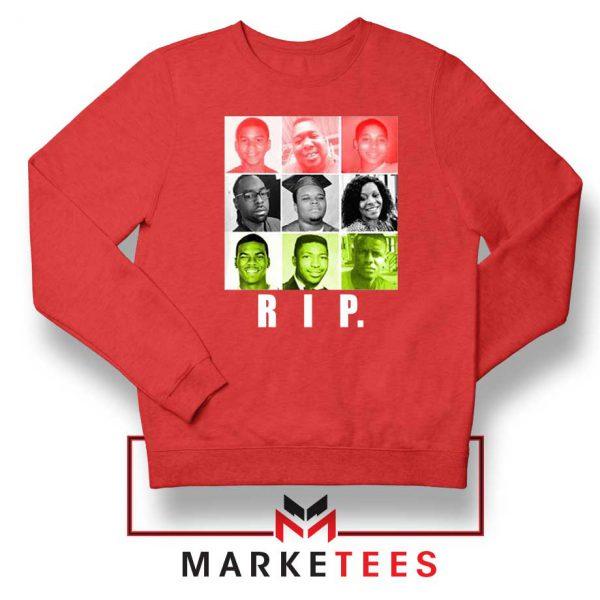 RIP Ed Reed Black Red Sweatshirt