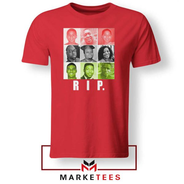 RIP Ed Reed Black Red Tshirt