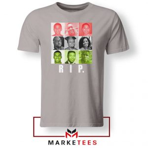 RIP Ed Reed Black Sport Grey Tshirt