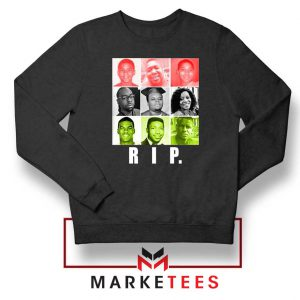 RIP Ed Reed Black Sweatshirt