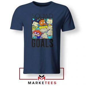 Rugrats Squad Goals Navy Blue Tshirt
