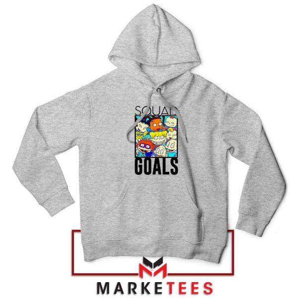 Rugrats Squad Goals Sport Grey Hoodie