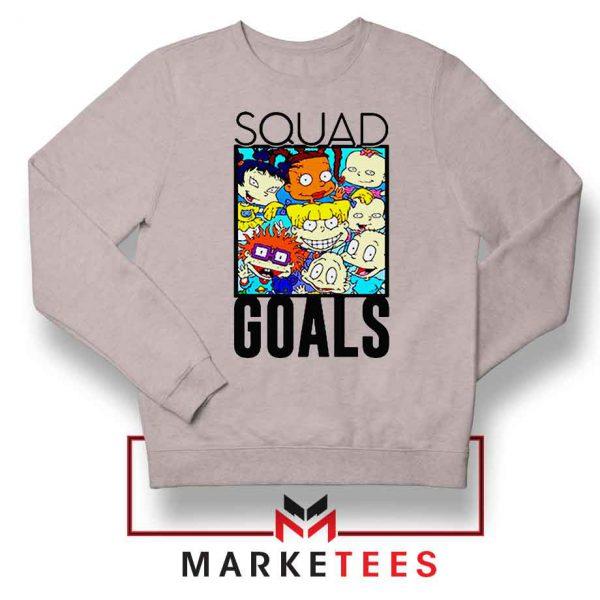 Rugrats Squad Goals Sport Grey Sweatshirt