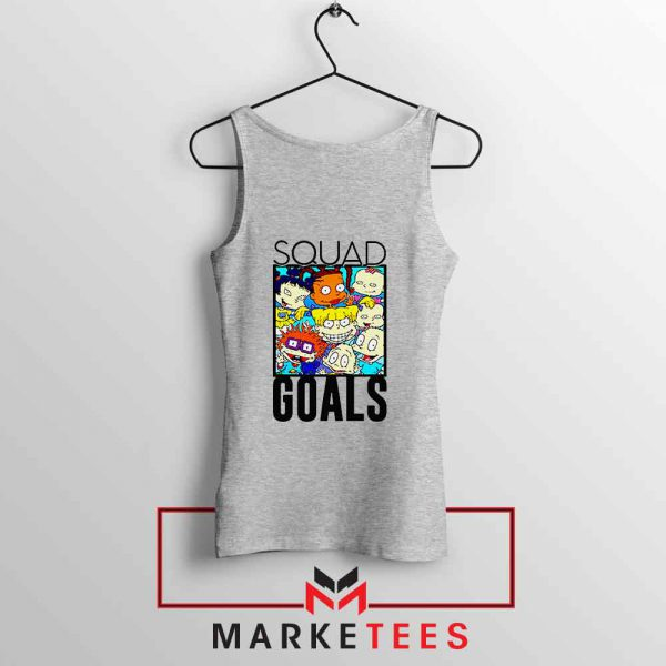 Rugrats Squad Goals Sport Grey Tank Top
