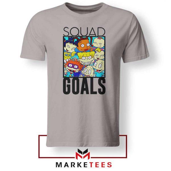 Rugrats Squad Goals Sport Grey Tshirt
