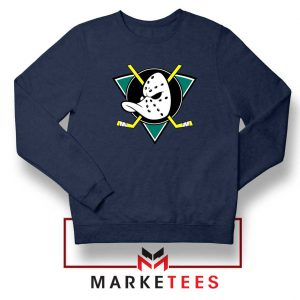 The Mighty Ducks Navy Blue Sweatshirt