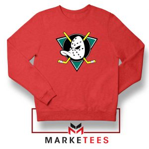 The Mighty Ducks Red Sweatshirt