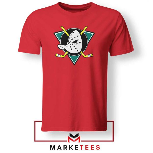 The Mighty Ducks Red Tshirt