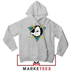 The Mighty Ducks Sport Grey Hoodie