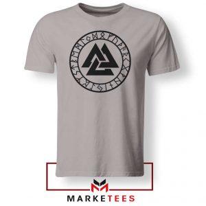 The Valknut Symbol Sport Grey Tshirt
