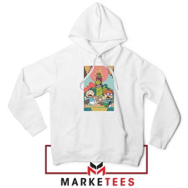 Tommy And Chuckie Run Away Hoodie