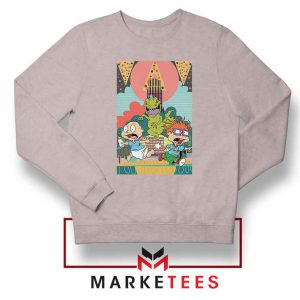 Tommy And Chuckie Run Away Sport Grey Sweatshirt