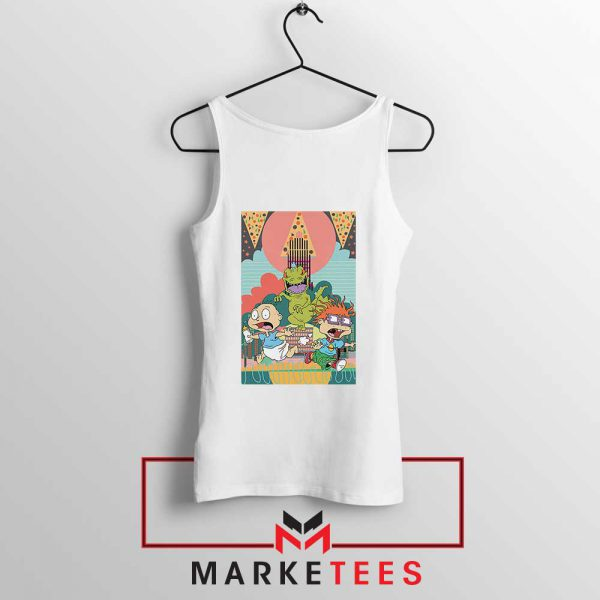 Tommy And Chuckie Run Away Tank Top