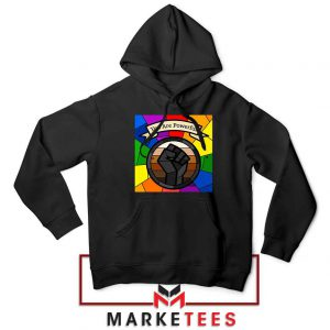 You Are Powerful Black Hoodie