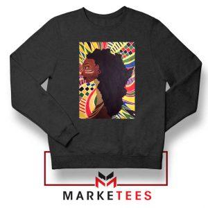 Alkebulan Motherland Africa Black Sweatshirt