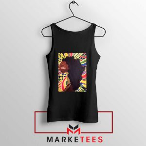 Alkebulan Motherland Africa Black Tank Top