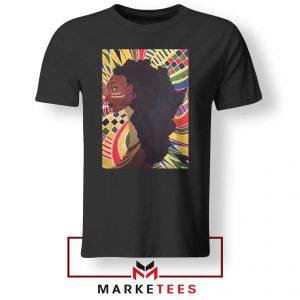 Alkebulan Motherland Africa Black Tshirt