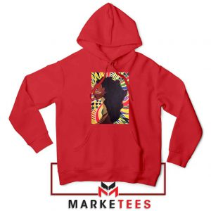 Alkebulan Motherland Africa Red Hoodie