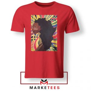 Alkebulan Motherland Africa Red Tshirt