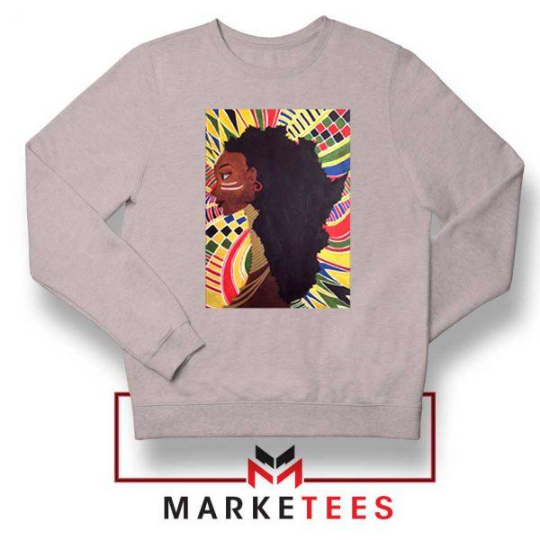 Alkebulan Motherland Africa Sport Grey Sweatshirt