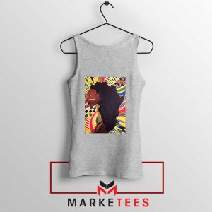 Alkebulan Motherland Africa Sport Grey Tank Top