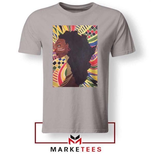 Alkebulan Motherland Africa Sport Grey Tshirt