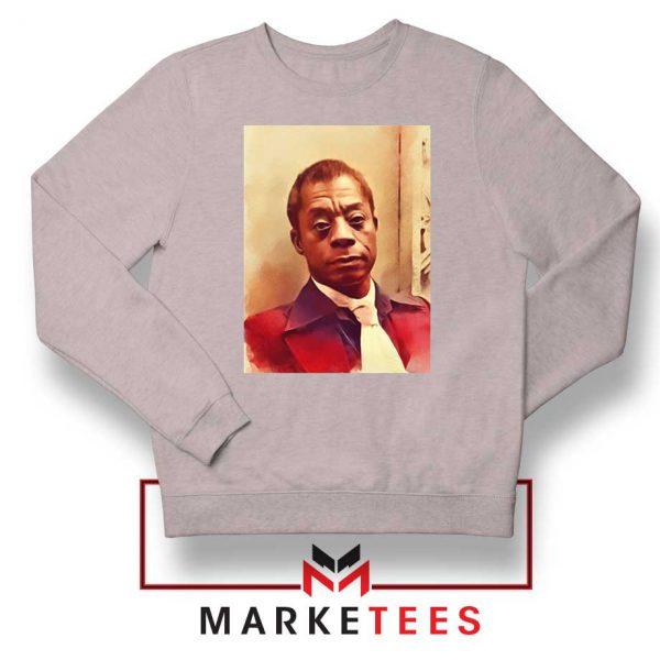 Baldwin American Novelist Sport Grey Sweatshirt