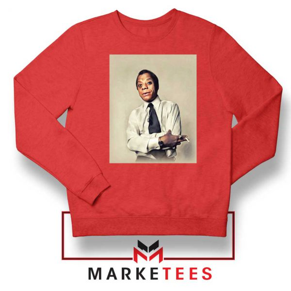 Baldwin Playwright Red Sweatshirt