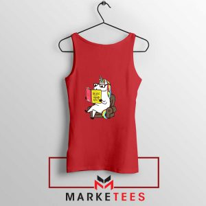 Believe Your Self Red Tank Top
