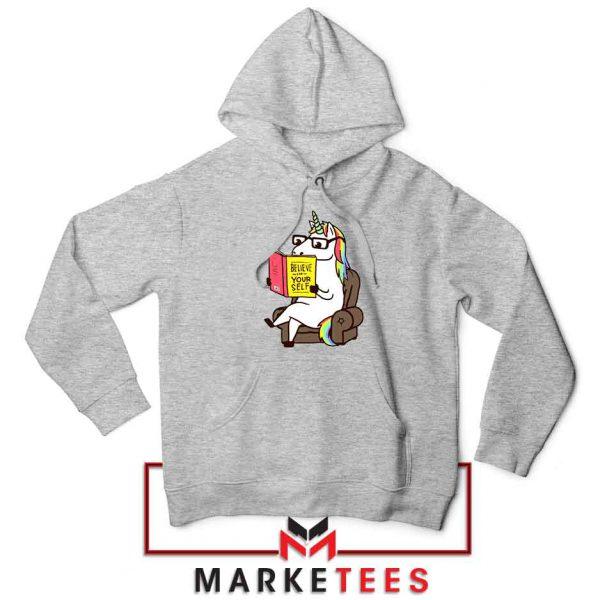 Believe Your Self Sport Grey Hoodie