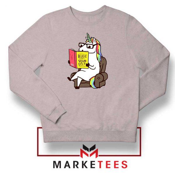 Believe Your Self Sport Grey Sweatshirt