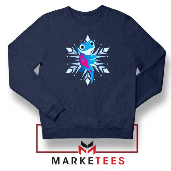 Best Cute Bruni Navy Blue Sweatshirt