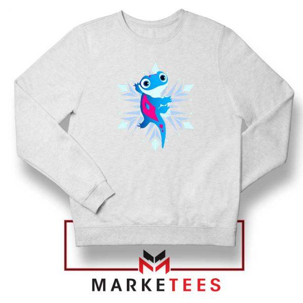 Best Cute Bruni White Sweatshirt