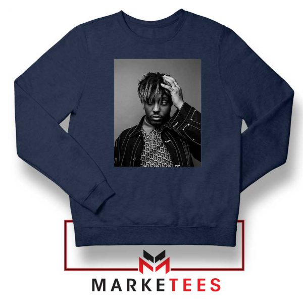 Black Juice WRLD Navy Blue Sweatshirt