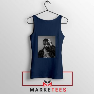 Black Juice WRLD Navy Blue Tank Top