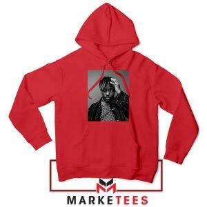Black Juice WRLD Red Hoodie