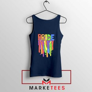 Celebrate Yourself Navy Blue Tank Top