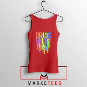 Celebrate Yourself Red Tank Top