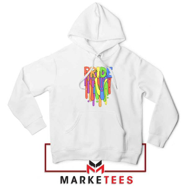Celebrate Yourself White Hoodie