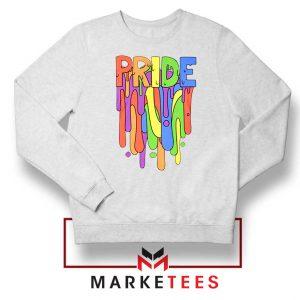 Celebrate Yourself White Sweatshirt