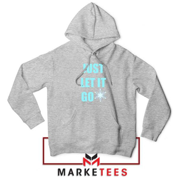 Cheap Just Let It Go Sport Grey Hoodie