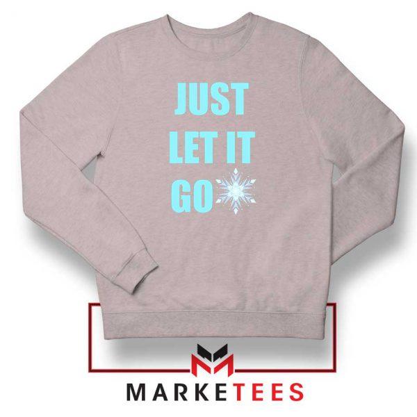 Cheap Just Let It Go Sport Grey Sweatshirt