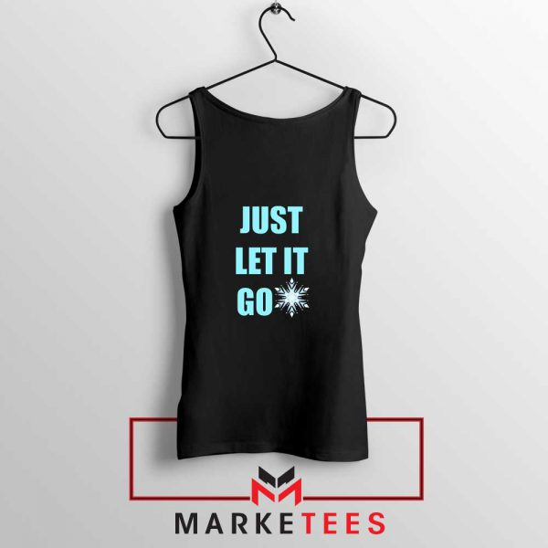 Cheap Just Let It Go Tank Top