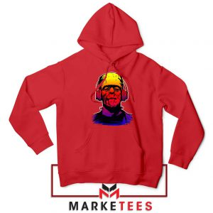 Chillinstein Halloween Red Hoodie