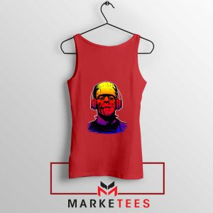 Chillinstein Halloween Red Tank Top