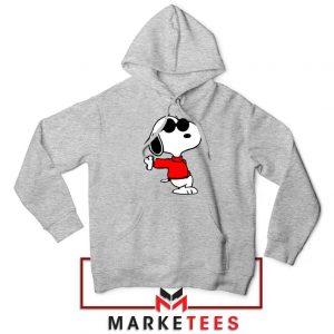 Cool Snoopy Sport Grey Hoodie