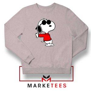 Cool Snoopy Sport Grey Sweatshirt